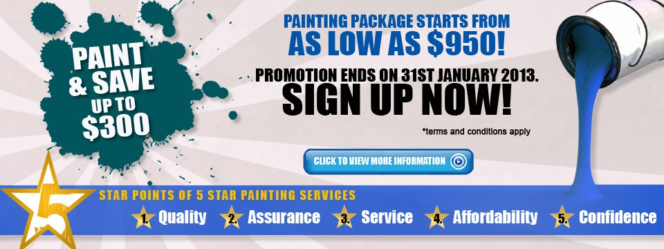 Painting contractors Singapore