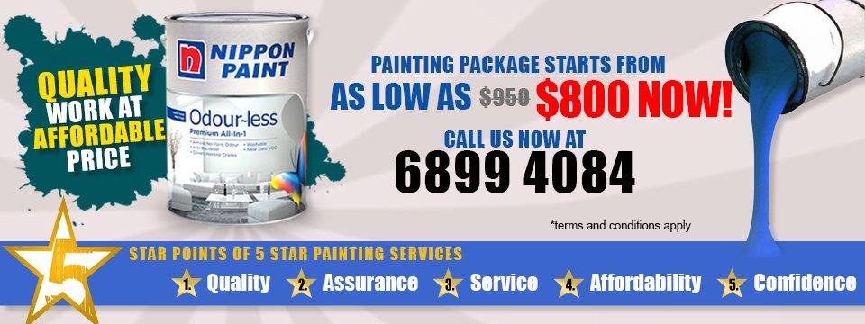 Home Painting Singapore